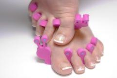 Feet. Merry feet royalty free stock photo