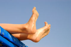 Feet Stock Photography