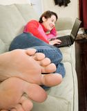 Feet Stock Image