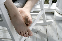 Feet Royalty Free Stock Photography