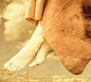 Feet of an angel Stock Image