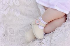 Feet of the baby Royalty Free Stock Photos