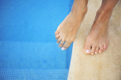 Feet bath Royalty Free Stock Photos
