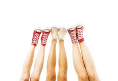 Feet concept Stock Photography
