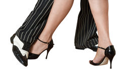 Feet of dancers Royalty Free Stock Photography