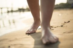 Feet detail Royalty Free Stock Image