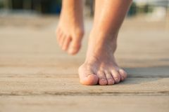 Feet detail Royalty Free Stock Photography