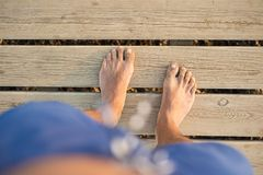 Feet detail Stock Images