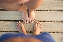 Feet detail Royalty Free Stock Images