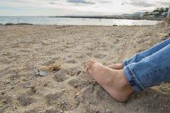 Feet. Stock Image