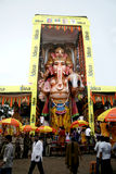 59 feet high Lord Ganesh idol Royalty Free Stock Photo