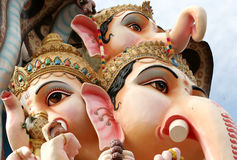 59 feet high Lord Ganesh idol Royalty Free Stock Photo