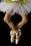 Feet In Ballet Royalty Free Stock Photography