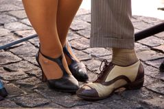 Feet In Buenos Aires, Argentina Stock Photo