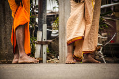 Feet of indian man Stock Photo