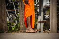 Feet of indian man Stock Image