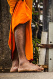 Feet of indian man Stock Photos