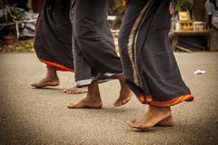 Feet of indian man Royalty Free Stock Image