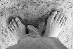 Feet of Jesus Royalty Free Stock Photos