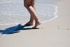 Feet marks stock photography