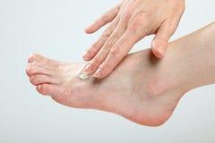 Feet massage Royalty Free Stock Images