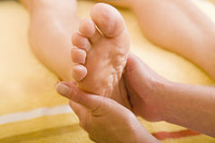 Feet massage Royalty Free Stock Photography