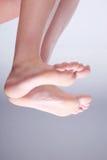 Feet nature close up Royalty Free Stock Photos