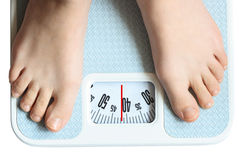 Free Feet On Scale Royalty Free Stock Image - 9497206