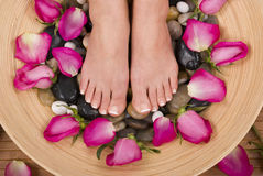Feet Relaxing Royalty Free Stock Photos