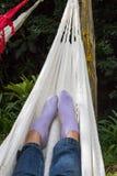Feet relaxing  Stock Image