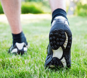 Feet of runner Royalty Free Stock Photos