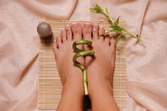Feet in a Spa Royalty Free Stock Photos