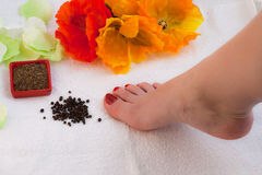 Feet spa Royalty Free Stock Images