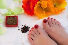 Feet spa Royalty Free Stock Photos
