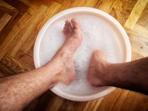 Feet spa Stock Photos
