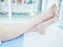 Feet spa wellness Stock Photo