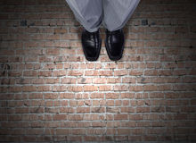 Feet top view Royalty Free Stock Image