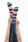 Feet up. Royalty Free Stock Images