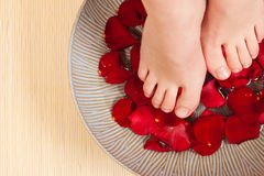 Feet, Water, Wellness Stock Photography