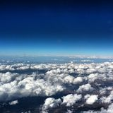 30,000 Feet. On the way to California Stock Images