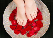 Feet wellness Royalty Free Stock Photo