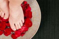 Feet wellness Stock Images