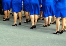 Feets de las mujeres Fotografía de archivo libre de regalías