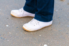 Feets. Royalty Free Stock Photography