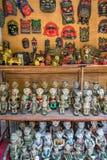 Fegåva för försäljningar i templet av litteratur Royaltyfria Foton