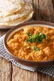 Feg changezi för indier som lagas mat med tomaten, ingefära, vitlök, oni royaltyfri bild