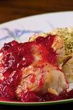 feg cranberry royaltyfri fotografi