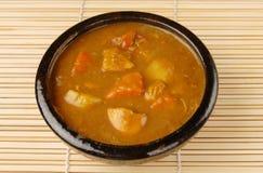 feg curry Royaltyfri Bild