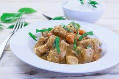 Feg curry på bunken Royaltyfri Fotografi