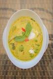 feg currygreen Arkivbild
